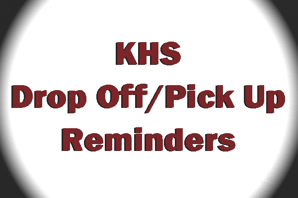 Reminders from the KCSD Safety Office