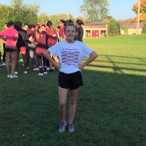Modified Cheerleading Featured Athlete
