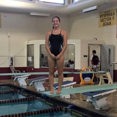 Varsity Swimming Featured Athlete