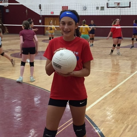 Modified Volleyball Featured Athlete